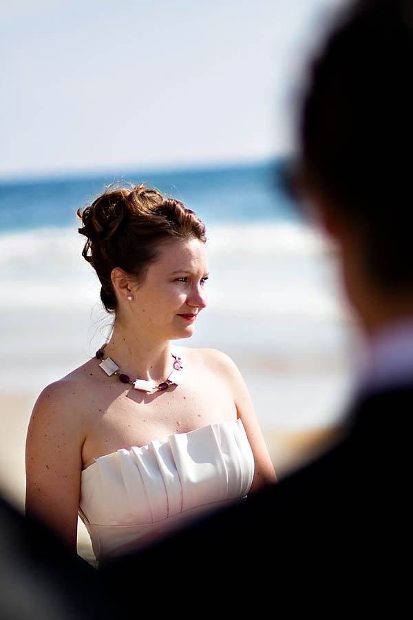 Wedding at Torrey Pines State beach